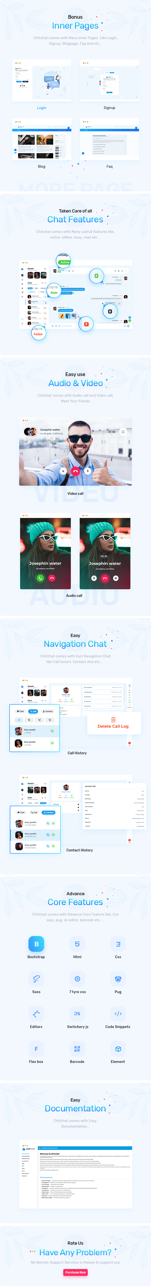Chitchat - Perfect Chat and Discussion HTML Template