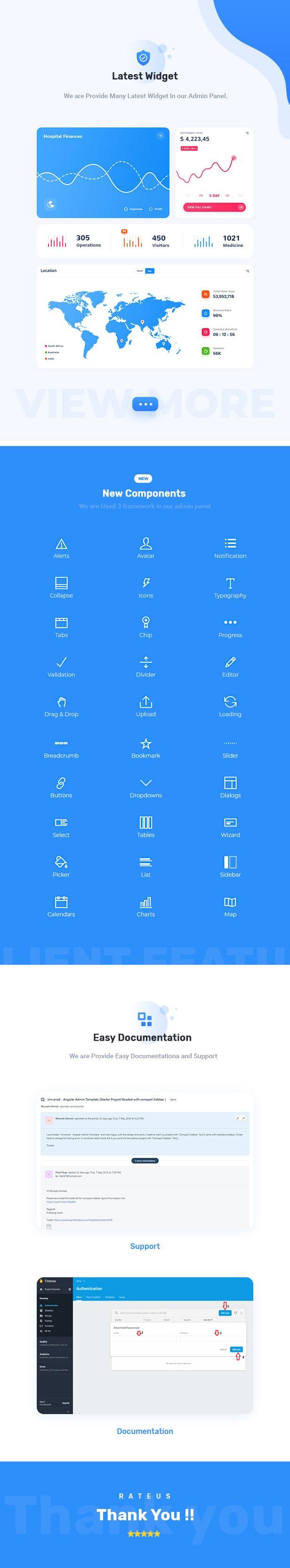 Compost Angular Admin Dashboard theme