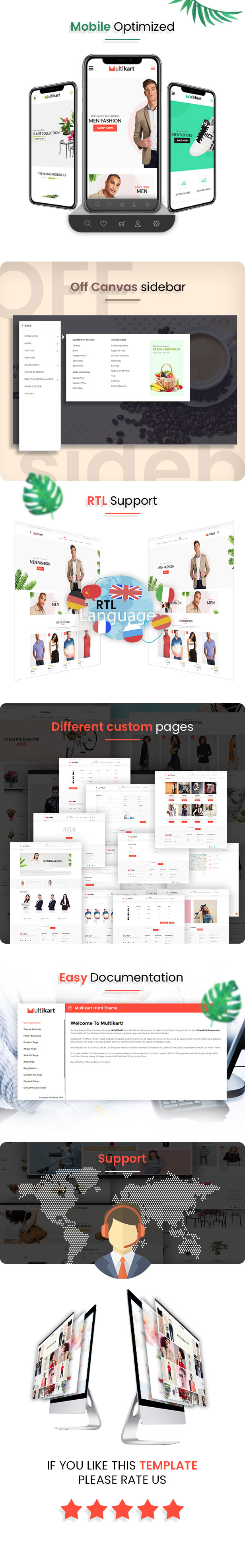 Multikart Multipurpose Ecommerce HTML Theme