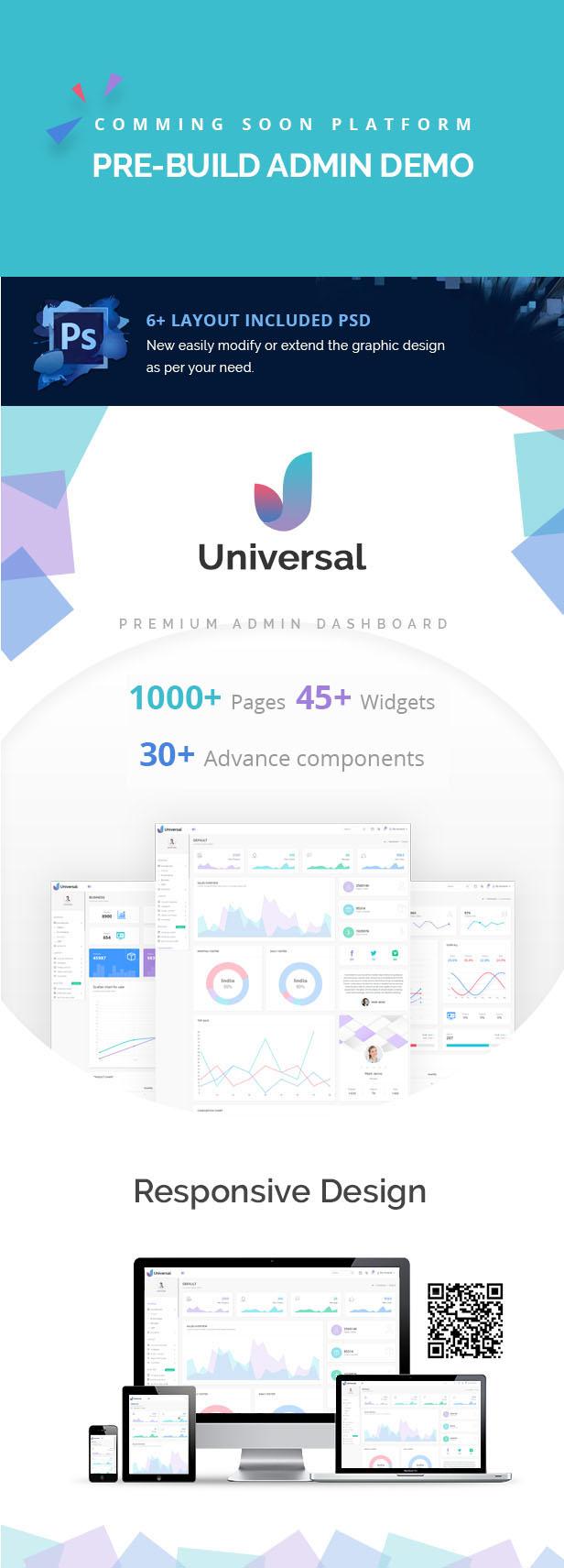 Universal Admin Dashboard theme