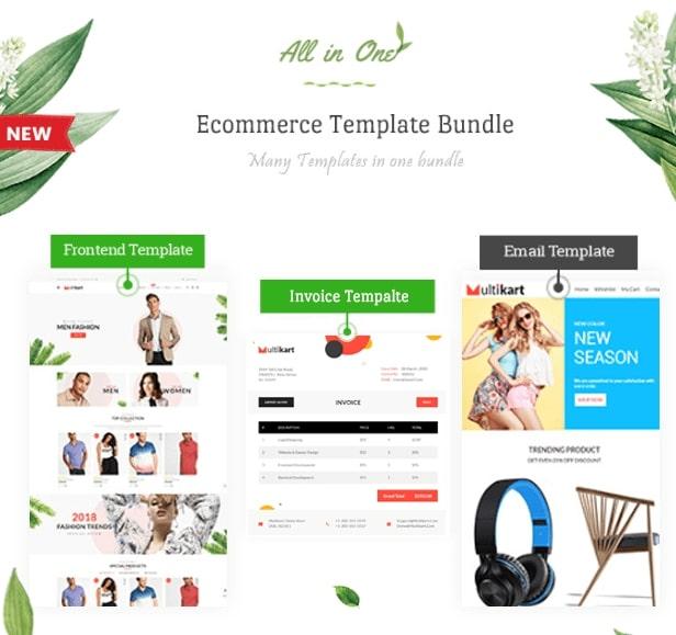 Multikart Multipurpose Ecommerce HTML Theme